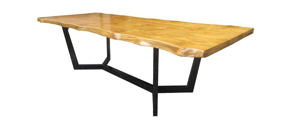 Bima Dining Table web - ordering custom made furniture in Bali